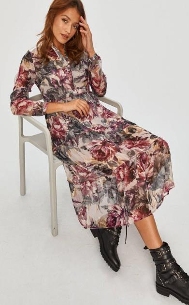 Růžové šaty Answear Lab