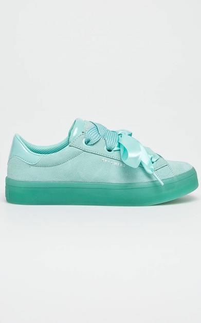 Tyrkysové boty Skechers