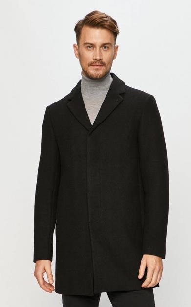 Černá bunda Clean Cut Copenhagen
