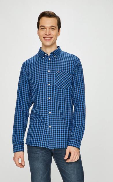 Modrá košile Tommy Jeans