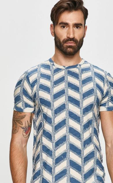 Modré tričko desigual