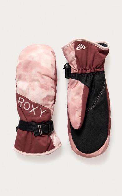 Růžové rukavice roxy