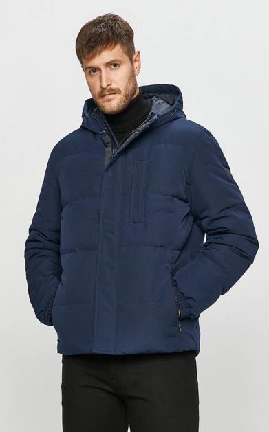 Modrá bunda wrangler