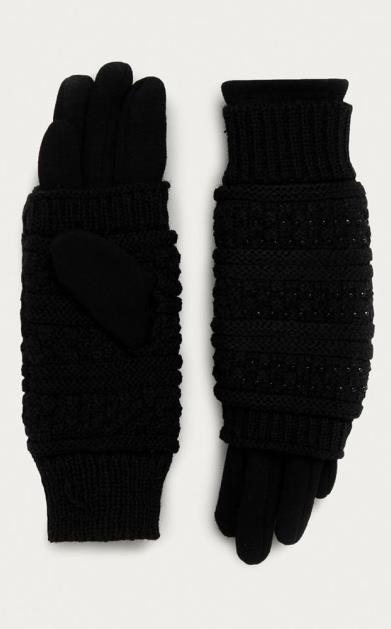 Černé rukavice Morgan