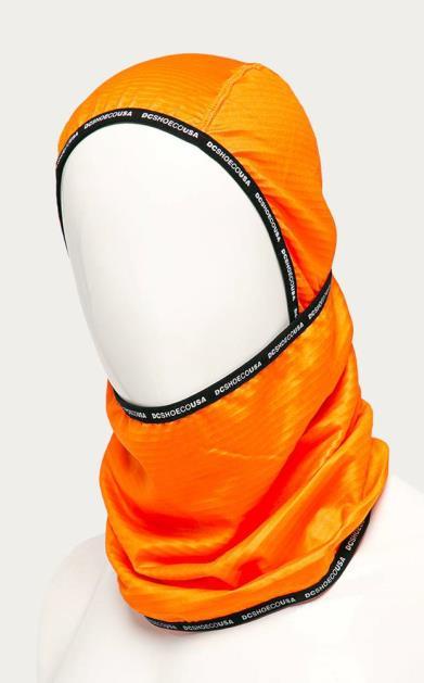 Oranžová čepice DC