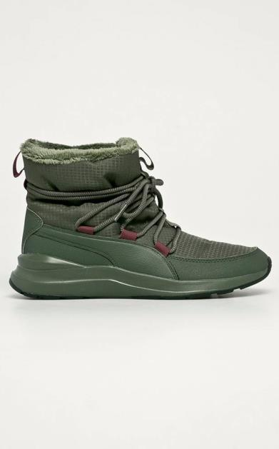 Zelené boty puma