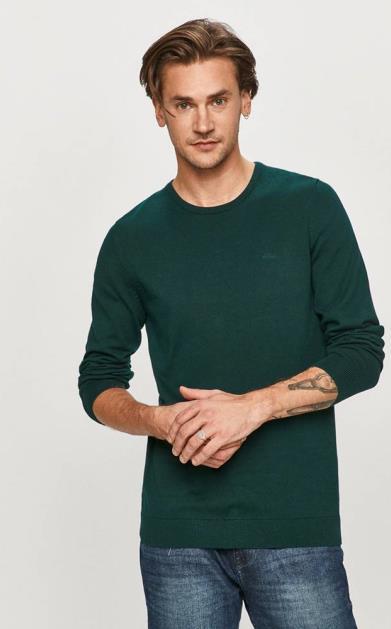 Zelený svetr s.oliver