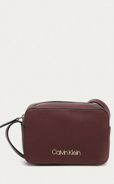 Fialová kabelka Calvin Klein
