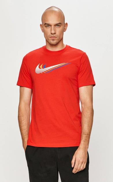 Červené tričko Nike Sportswear