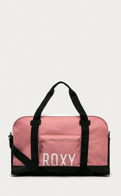 Růžový kufr roxy