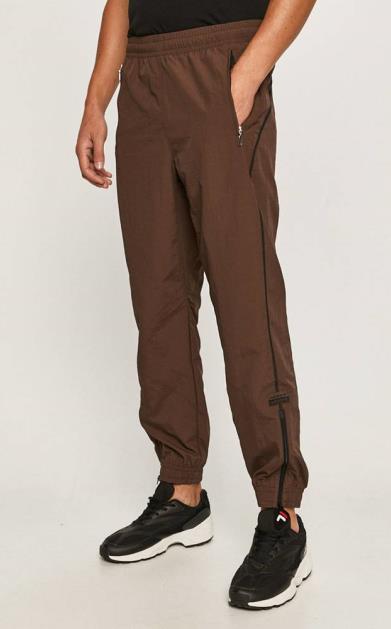 Hnědé kalhoty adidas originals