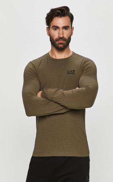 Zelené tričko EA7 Emporio Armani