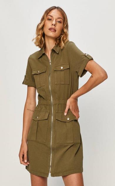 Zelené šaty Answear Lab