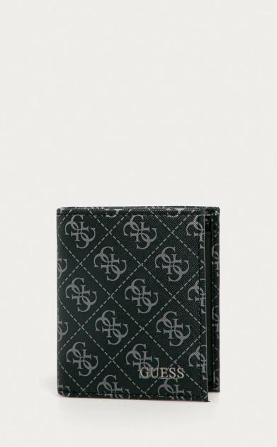 Černá peněženka Guess