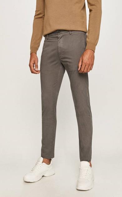 Šedé kalhoty HUGO