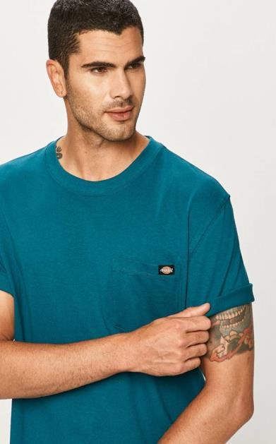 Tyrkysové tričko Dickies