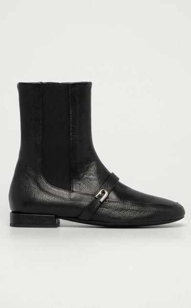 Černé boty Furla