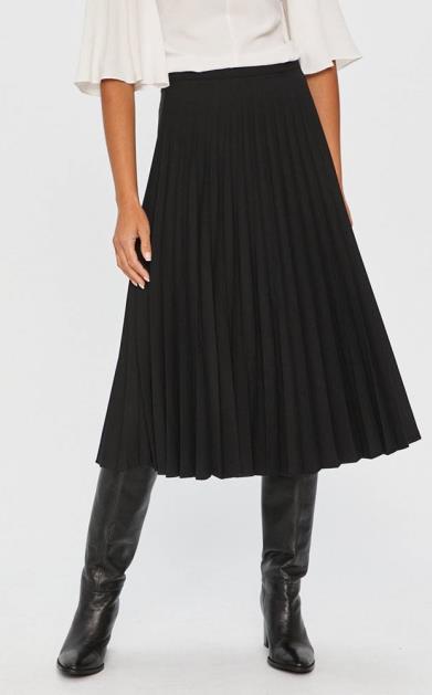 Černá sukně Answear Lab