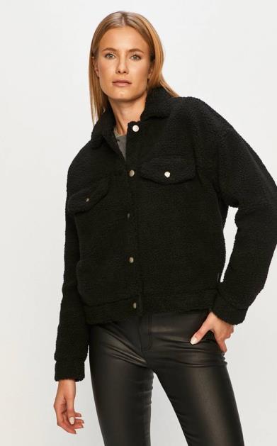 Černá bunda Dr. Denim