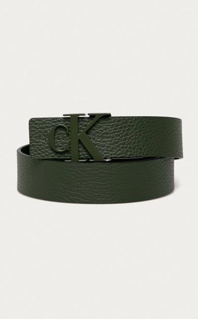 Zelený pásek calvin klein jeans