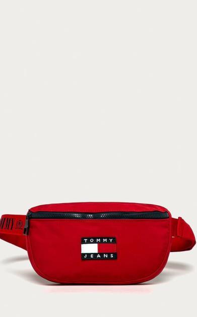 Červená ledvinka Tommy Jeans