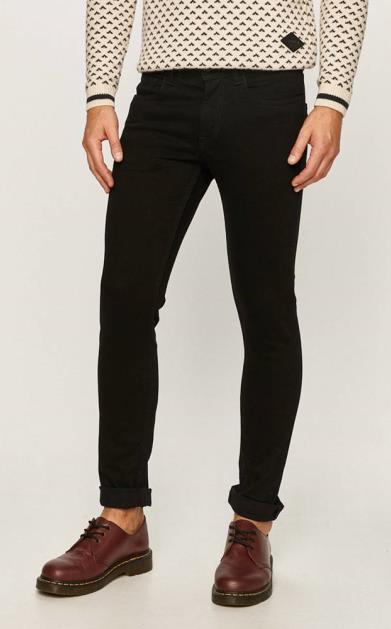 Černé kalhoty PRODUKT by Jack & Jones