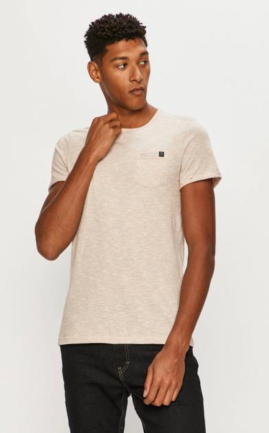 Béžové tričko tom tailor