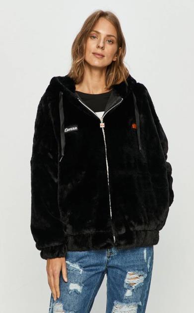 Černá bunda Ellesse