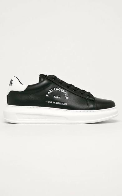 Černé boty karl lagerfeld
