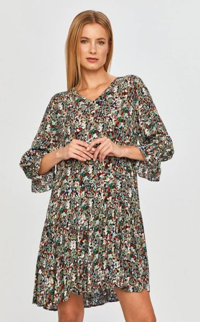 Vícebarevné šaty only