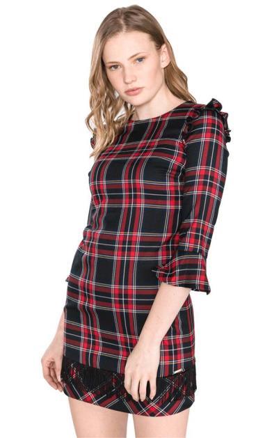 Černá červené šaty Liu Jo