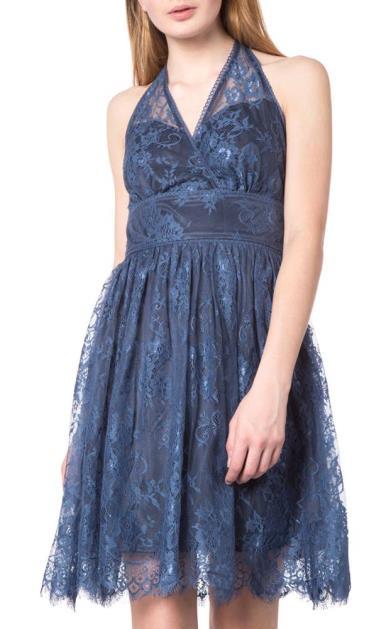 Modré šaty Silvian Heach