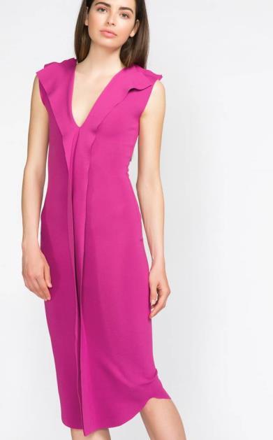 Růžové šaty Jakub Polanka x Bibloo
