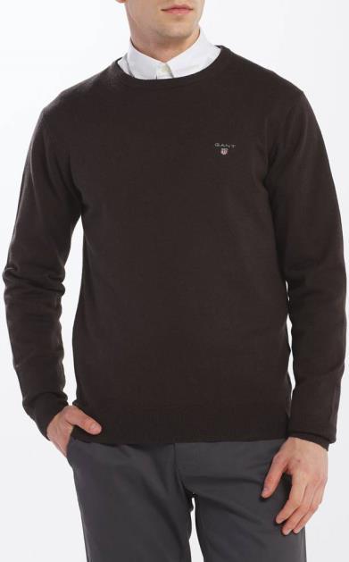 Hnědý svetr gant
