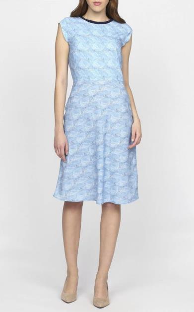 Modré šaty gant