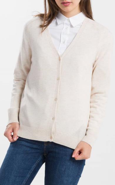 Šedý svetr gant