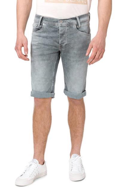 Šedé kraťasy pepe jeans