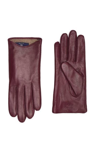 Červené rukavice gant