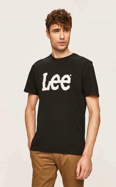 Černé tričko lee