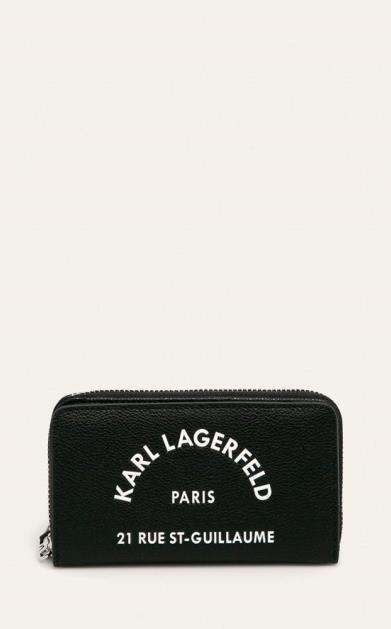 Černá peněženka karl lagerfeld