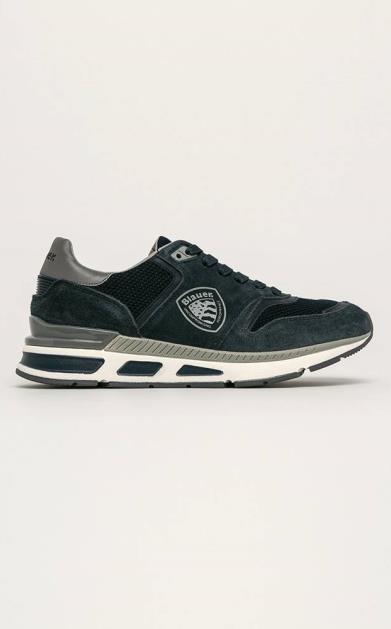 Modré boty Blauer