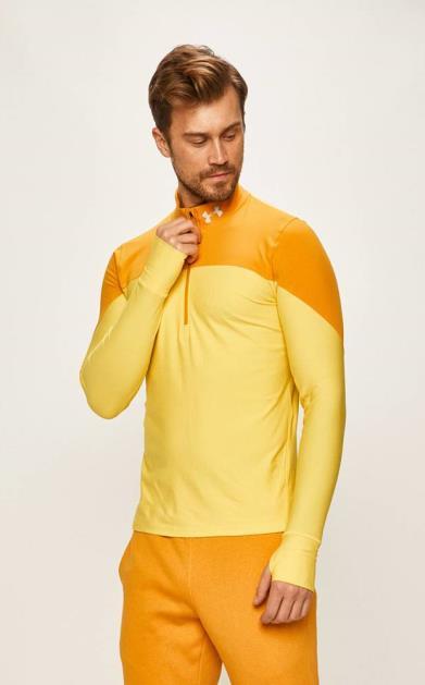 Žlutá mikina under armour