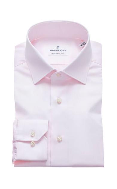 Růžová košile Emanuel Berg