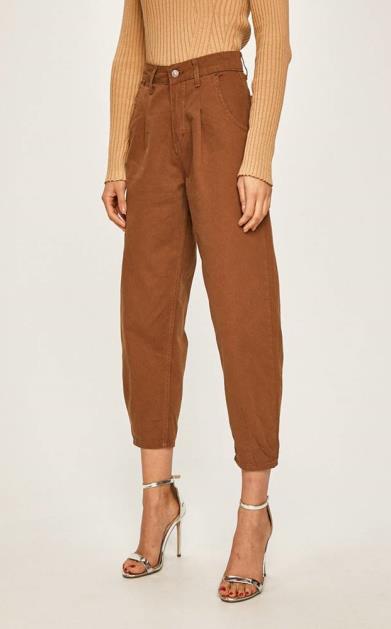 Hnědé kalhoty ANSWEAR