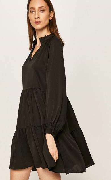 Černé šaty ANSWEAR