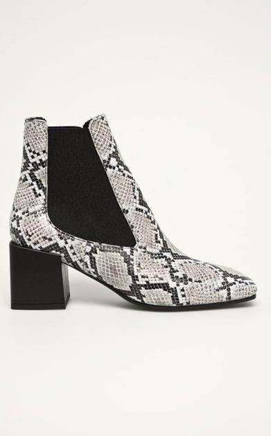 Šedé boty Baldowski