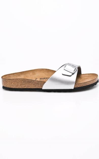 Stříbrné boty Birkenstock