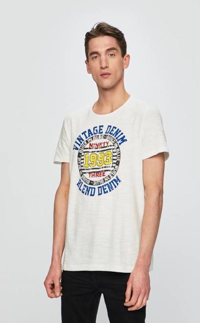 Bílé tričko blend