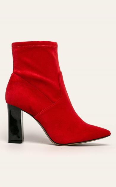 Červené boty Caprice