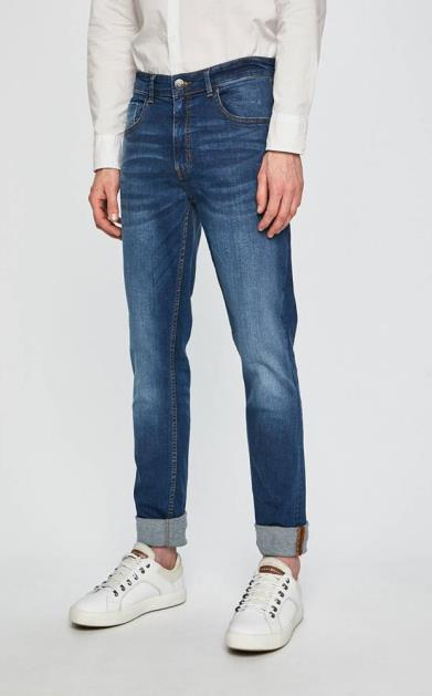 Modré kalhoty Casual Friday